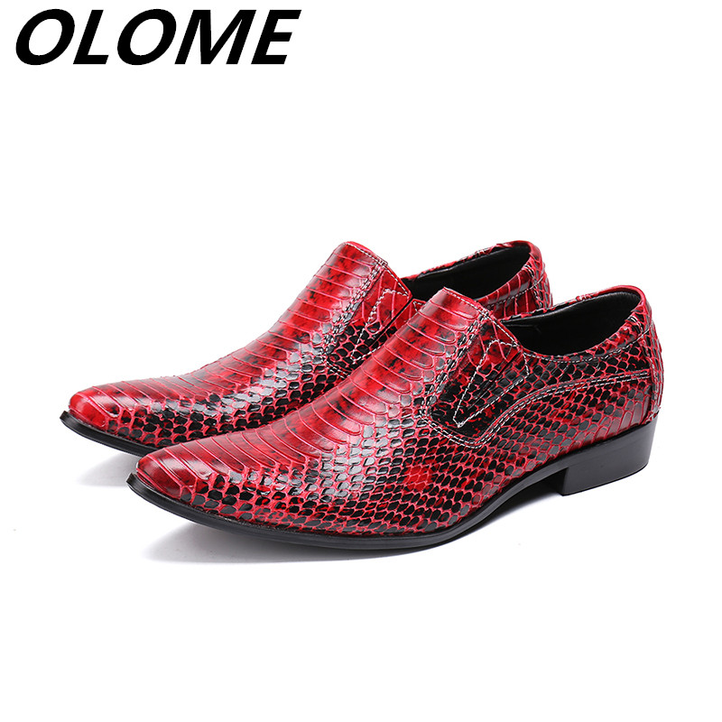 italian men shoes elegant spike dress slipon party red wedding shoes snakeskin leather loafers prom zapatos hombre vestiritalian men shoes elegant spike dress slipon party red wedding shoes snakeskin leather loafers prom zapatos hombre vestir