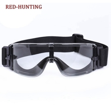 3 Colors Hunting Combat X800 Military Goggles Tactical Army Sunglasses