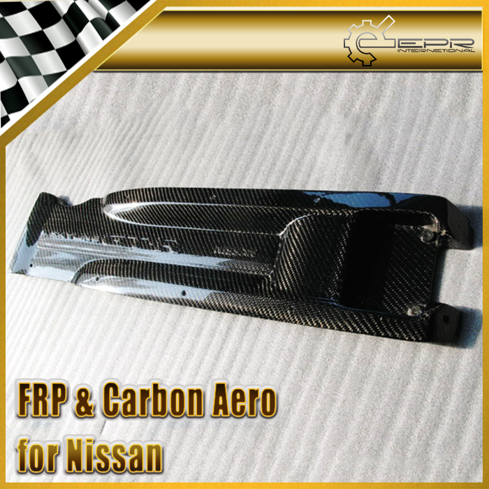 Car styling For Nissan R32 R33 R34 GTR RB26 DETT Carbon Fiber Plug Cover Glossy Fibre