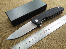 High quality tactical folding knife F3 G10 handle D2 blade Flipper camping hunting survival pocket knives EDC hand utilitytools