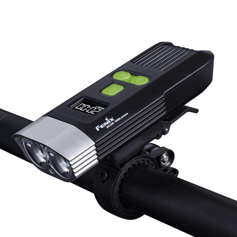2017 NOUVEAU Fenix BC30R Cree XM L2 U2 LED haute intensité vélo lumière USB chargeur construire dans la batterie au lithium écran OLED livraison gratuite - 4