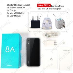 Image 5 - Honra global do firmware 8a telefone móvel 6.09 polegada 3 gb 32 mtk6765 octa núcleo android 9.0 3020 mah rosto desbloquear 1560x720