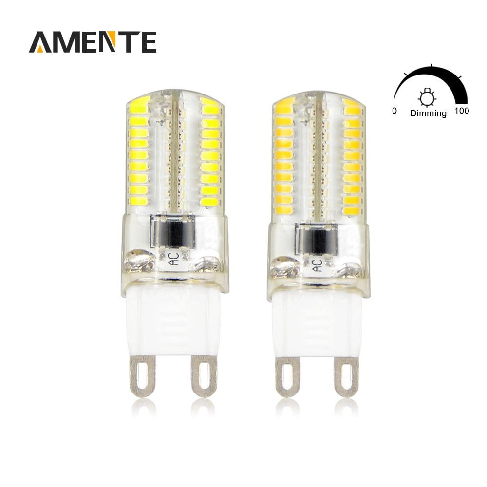 smd dimmable led candle light g9 g4 e14 e11 e17 led lamp 6w ac 220v