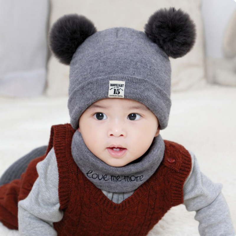 Baby Boy Boys Infant Hat Warm Winter Autumn Hat 0-12 months