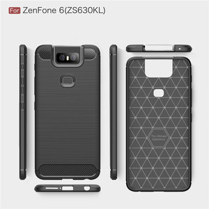 Image 5 - ل Asus Zenfone 6 ZS630KL حالة درع واقية لينة TPU سيليكون الهاتف جراب إيسوز Zenfone 6 غطاء ل Zenfone 6 ZS630KL