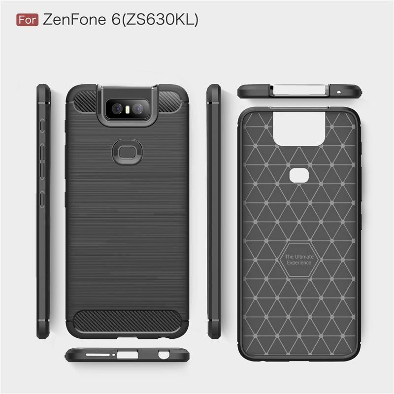 Image 5 - For Asus Zenfone 6 ZS630KL Case Armor Protective Soft TPU Silicone Phone Case For Asus Zenfone 6 Cover For Zenfone 6 ZS630KL-in Fitted Cases from Cellphones & Telecommunications