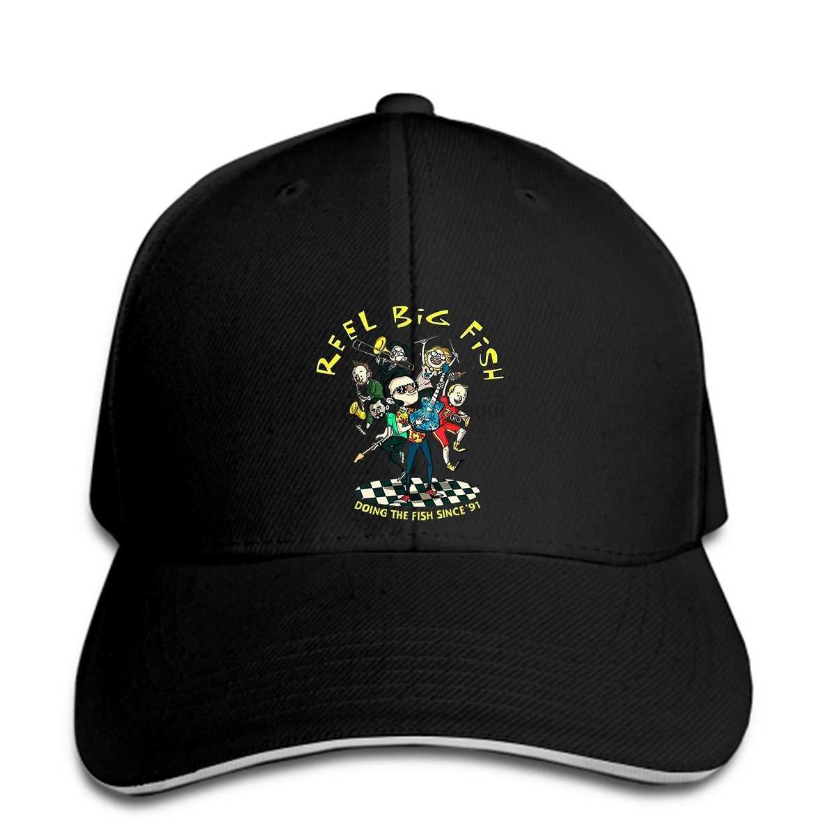 Baseball cap REEL BIG FISH Band Print hat New Arrival Men& Fashion top