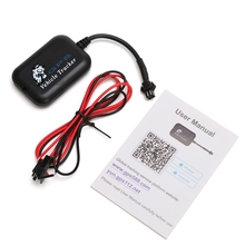 Mini Hot Vehicle Time Tracking Tracker Bike Motorcycle Real Monitor GPS/GSM/GPRS все цены