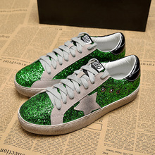 High Quality Female Sneakers Old Star Shoes Women's Shoes Sequins Flat Sports Shoes Women'sTrend Dropshipping