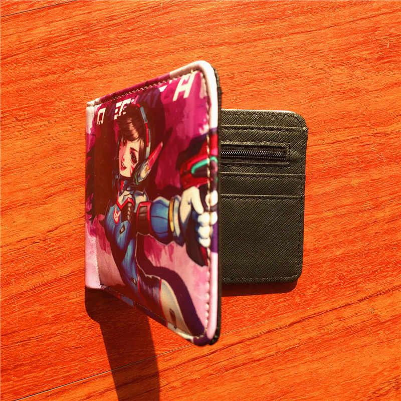 Новое поступление игра Overwatch короткий кошелек из искусственной кожи Кошелек складной кошелек с держателем карты сумка W568