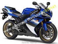 Hot Sales,For Yamaha YZF1000 YZF R1 2007 2008 YZF R1 07 08 Blue Black White Aftermarket Motorcycle Fairing (Injection molding)