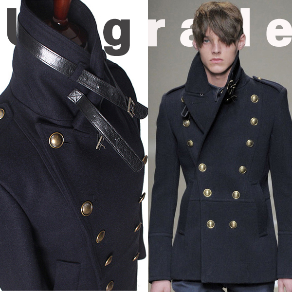 Online Get Cheap Mens Fitted Pea Coat -Aliexpress.com | Alibaba Group