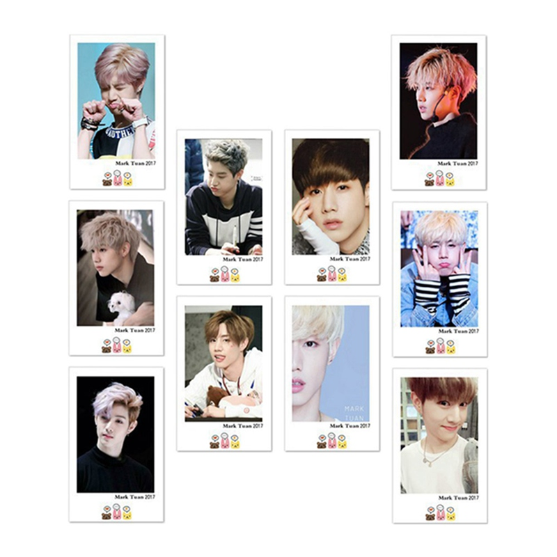 Beautiful Hot Sale 10pcs/set Got7 Album Lomo Cards K-pop New Fashion Self Made Paper Photo Card Hd Photocard Aromatic Character And Agreeable Taste Office & School Supplies
