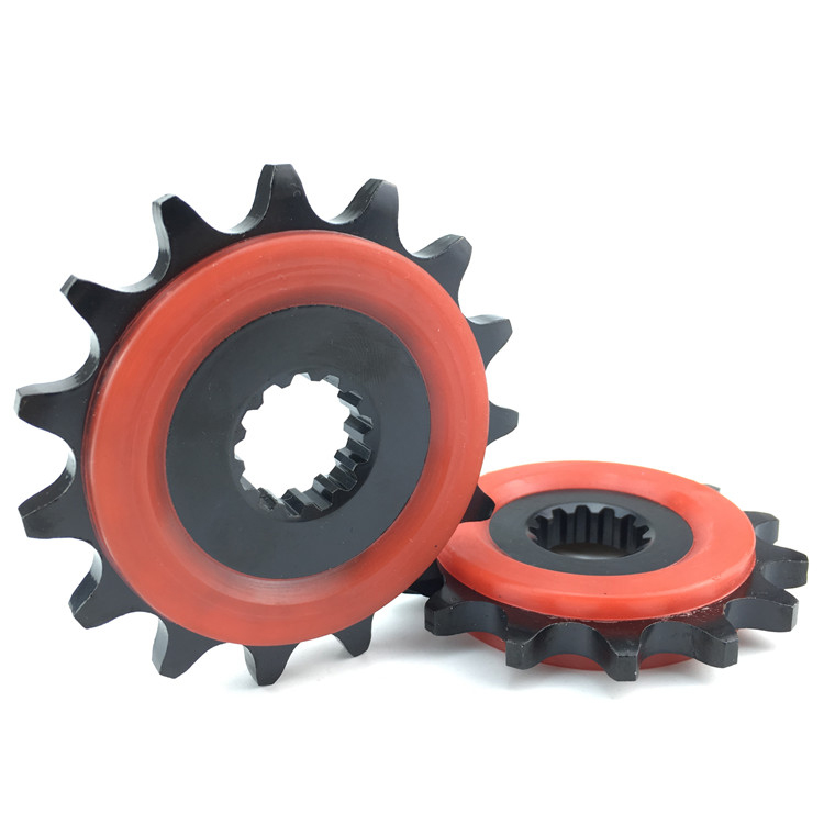 High Quality Motorcycle Engine Modified Sprocket Chain Wheel Front Fly Wheel 14T For Suzuki GW250 GSX250R DL250 1pc