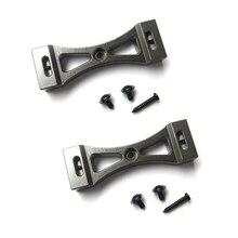 2 pezzi staffa metallica per WPL B1 B 1 B14 B 14 B16 B24 B 24 C14 C 14 C24 C 24 B36 per MN D90 D91 RC aggiornamento auto Kit parti in metallo fai da te