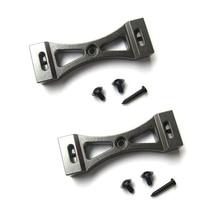 2pcs Metal Bracket for WPL B1 B 1 B14 B 14 B16 B24 B 24 C14 C 14 C24 C 24 B36 for MN D90 D91 RC Car Upgrade Metal DIY Parts Kit