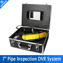Sony 650TVL 20M Cable 7 inch TFT LCD monitor Aluminum Case Inspection Camera System Built in DVR Borescope Pipe Sewer Camera