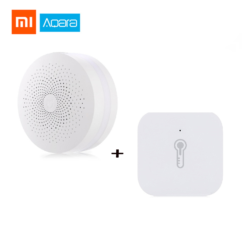 Xiaomi Mi Aqara Temperature Humidity Sensor Environment Air Pressure Mijia Smart Home Zigbee Wireless Control Mi Home Mi Gateway