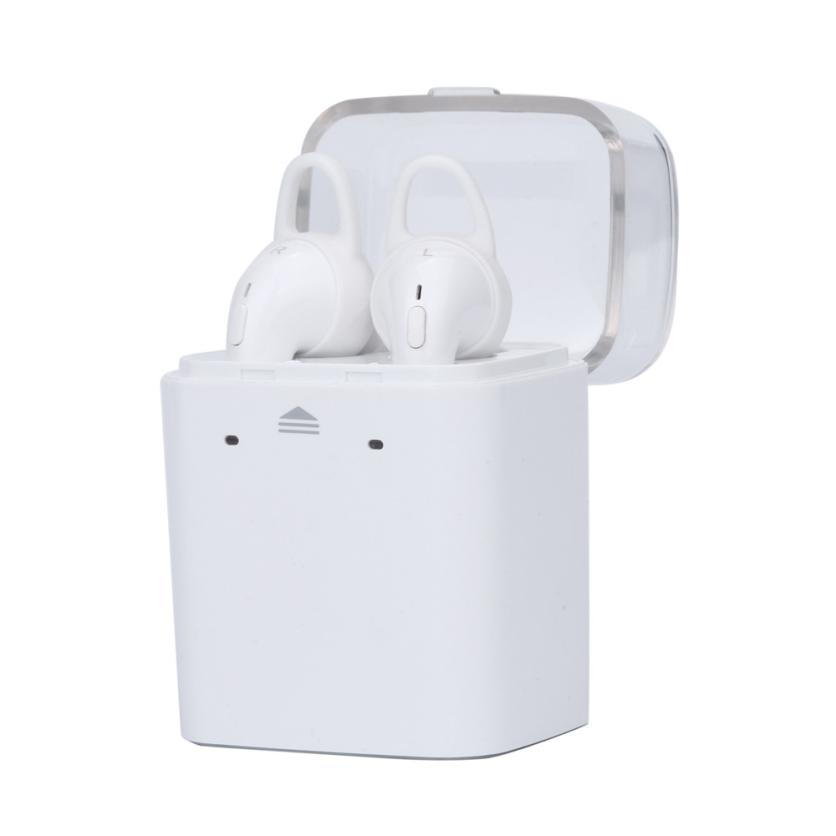 NEW ! Headphones for a mobile phone Wireless Bluetooth Magnet In-Ear Headset For iphone7 for Airpods Androi Drop shipping mar16 remax s2 bluetooth headset v4 1 magnet sports headset wireless headphones for iphone 6 6s 7 for samsung pk morul u5
