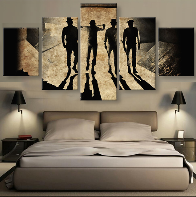 5 pieces sets canvas art new hd clockwork orange wall art home decoration for home