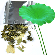 40pcs Lotus Leaf Green tea,100% Natural Heabal tea,Slimming tea,CL036H19