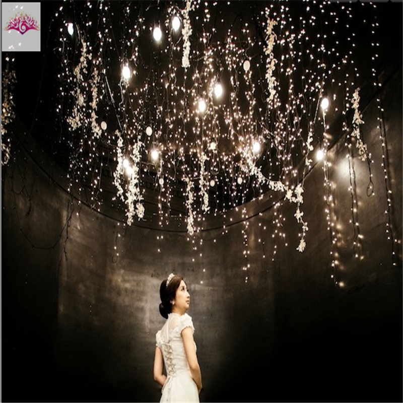 New hot 2 m 20 led copper wire led string fairy lights lamp battery new hot 2 m 20 led copper wire led string fairy lights lamp battery operated xmas party garden lawn outdoor decor 100pcs in led string from lights aloadofball Image collections