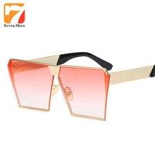 Steampunk Cat Eye Sunglasses Mujeres Diseñador de la Marca de Gran Tamaño Gafas de Monturas de Gafas de Sol de La Vendimia Femenina Gafas Lunettes De Soleil