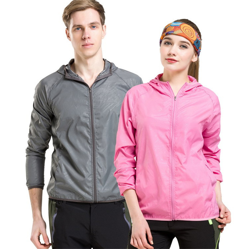 Unisex Summer Outdoor Quick Dry Sun-Protective Jacket Plus 4XL Hiking Camping Running Fishing waterproof jacket Protection UV(China)