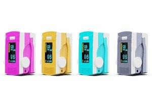 Image 2 - PR+MISE finger pulse oximeter OLED ABS metrial heart rate monitor