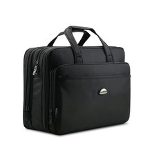 Real Men's Bags Handbag Large Capacity Briefcase Shoulder Bag Computer with Short Handles Black Men Messenger Business Bags