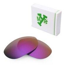 Mryok POLARIZED Replacement Lenses for Oakley Monster Dog Sunglasses Plasma Purple