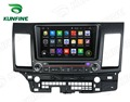 Quad Core 1024*600 Android 5.1 Car DVD GPS Navigation Player Car Stereo for Mitsubishi Lancer 2006-2012 Radio 3G Wifi Bluetooth