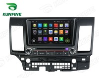 Quad Core 1024*600 Android 5.1 Car DVD Player de Navegação GPS Som Do Carro para Mitsubishi Lancer 2006-2012 Radio 3G Wifi Bluetooth