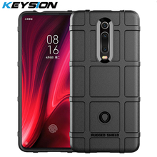 KEYSION Shockproof Case For Xiaomi Mi 9T Pro K20 Mi9 SE Soft TPU Armor Drop Resistance Back Phone Cover for Redmi Mi9T