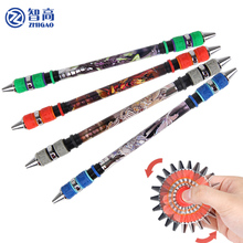 Zhigao spinning pen V20 new rotation gyro style rotary pen ZG 5182 throwing competition dedicated pen