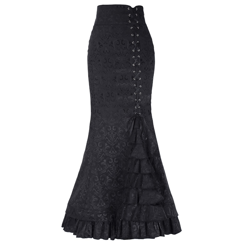 Belle Poque μακρύ φούστες γυναικών - Γυναικείος ρουχισμός - Φωτογραφία 3