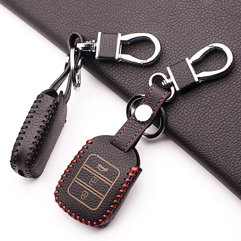 Latest Fashion Men Protector Key Cover Remote Key Case for Honda 2013-2017 Civic Acc 4 Sports Key Bag 3 buttons remote control
