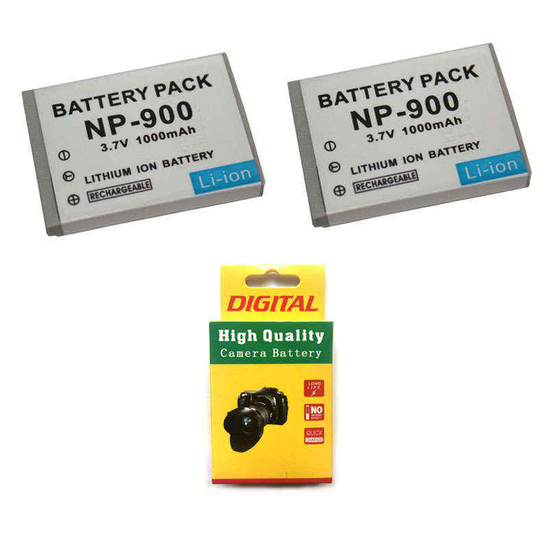 Consumer Electronics 2pcs 1000mah Np-900 Np900 Camera Battery For Olympus Li 80b Li-80b Minolta Dimage E40 E50 Premier Sl4 Sl5 Sl6 For Benq Dc C500 Beneficial To The Sperm