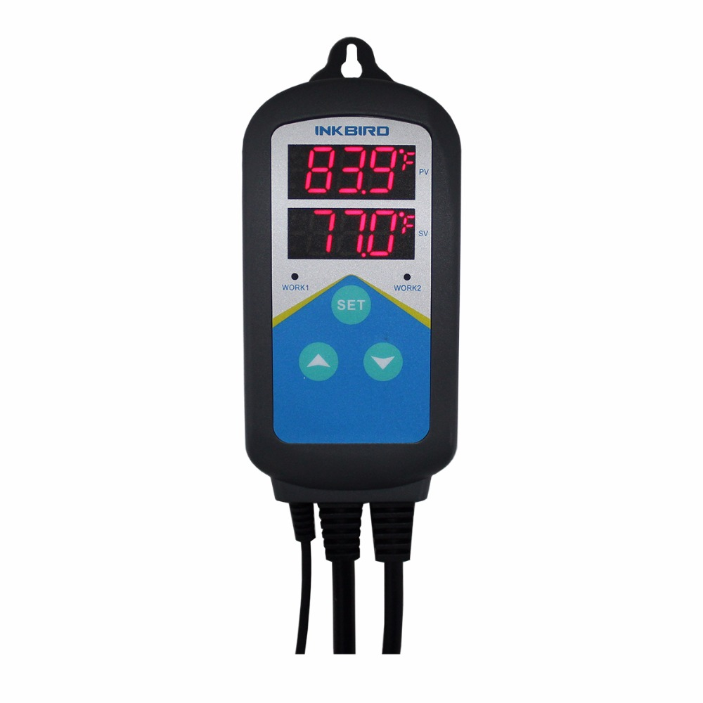 ITC-306T Pre-wired Electronic Heating Thermostat Temperature Controller and Digital Timer Controller Without Cooling Controlling  цены