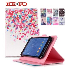 Tablet 10.1 Case Universal PU Leather Cover For ARCHOS 101 Neon/101 Xenon/101 XS 2 Funda Tablet 10.1 Universal+Film