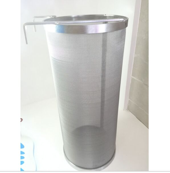 Brewing Hop Filter 6 x 14 (15cm x 35cm ), Hope Spider, 300 micron mesh, Brand New Stainless Steel 304, Free Shipping