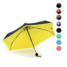 Просто Мода Мини Дождь Зонтик Ветрозащитный Ясно Складной Мужчины И Женщины Компактный Карманный Зонтики Hogard