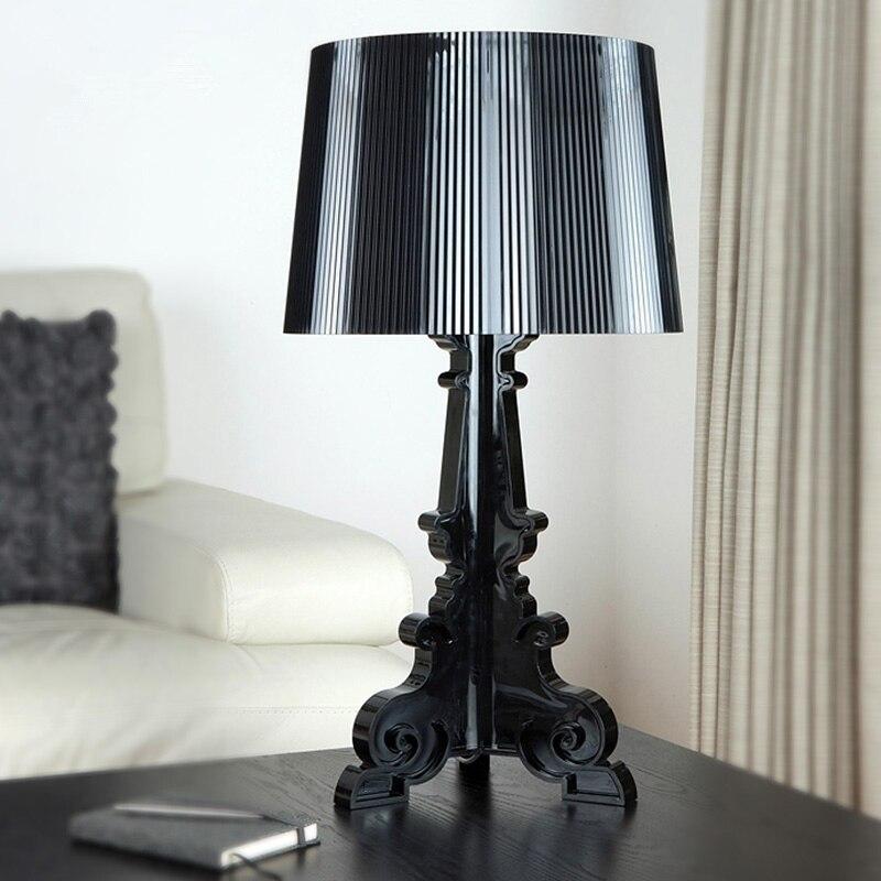 Нордическая настольная лампа прозрачная прикроватная Светодиодная лампа хрустальная спальня прикроватный ночник гостиная комната в стил...