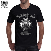 Rocksir 2017 Hot Sale Band Series T Shirt Men The Motorhead Classic Ablum Bad Magic Heavy