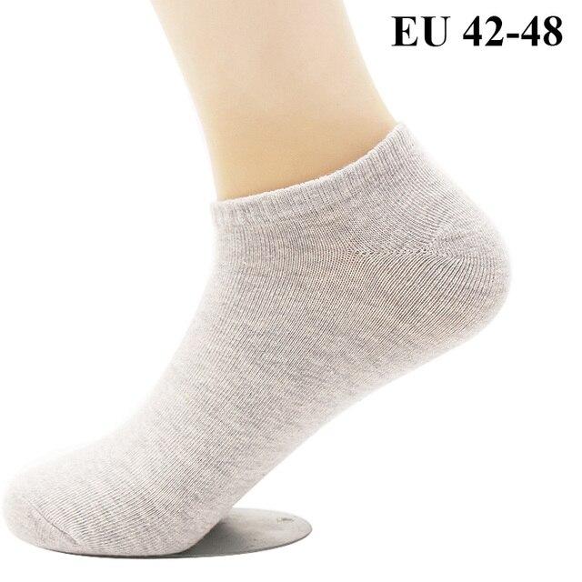 76caa2626a77 10 PCS=5 Pairs Men's Cotton Dress Socks Plus Large Big Size 44, 45 ...