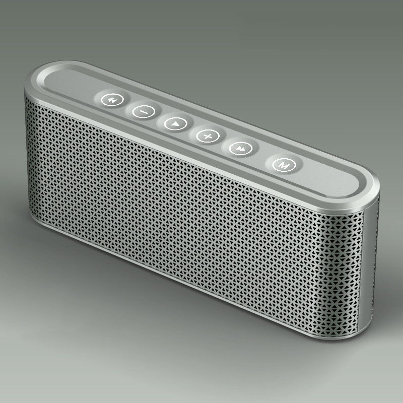 Colonne Mini haut-parleur Bluetooth sans fil TF USB FM haut-parleurs de musique portables appel mains libres pour iPhone 6 téléphone PC avec micro