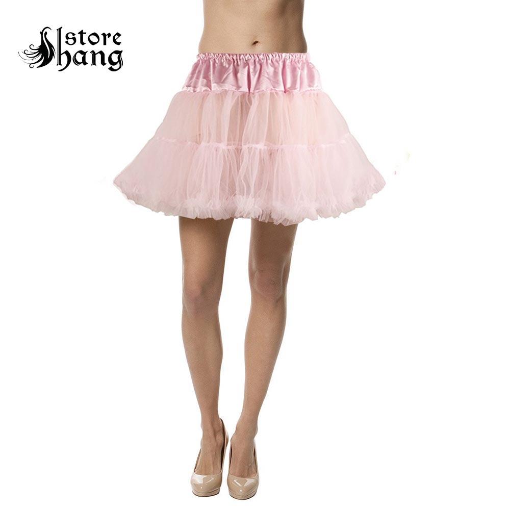 Rock N Roll Underskirt Fancy Dress Adult All Colours