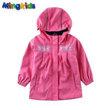 Резиновый плащ девочка куртка дождевик непромокайка лето осень