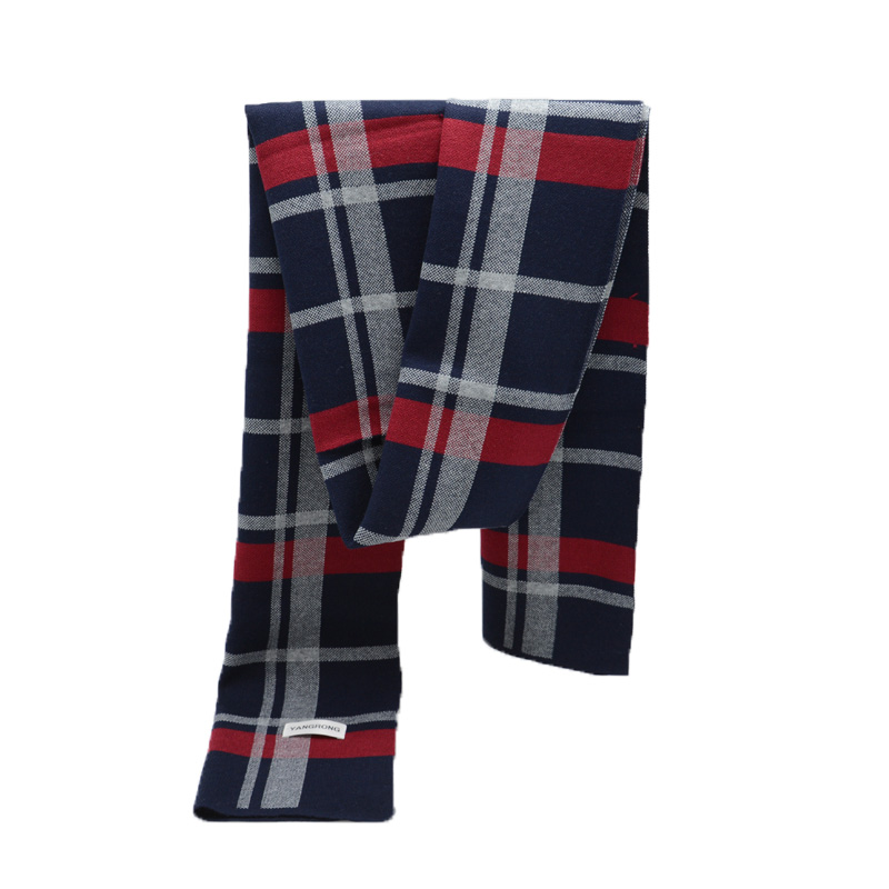 Newest Design Brand winter Scarf Men Warm Luxury Scarves Fashion Plaid Wool Scarf Man Formal Business tartan Scarves wraps