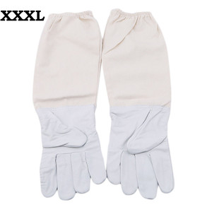 Image 3 - 2019 cant miss recommended Beekeeping Gloves Goatskin Bee Keeping with Vented Beekeeper Long Sleeves beekeeping supplies